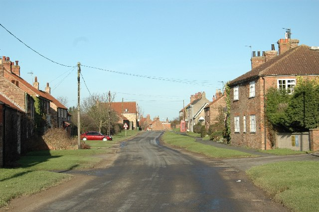 High Catton village street