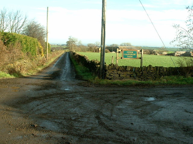 Kirkby Lane to Upper Crawshaw Farm