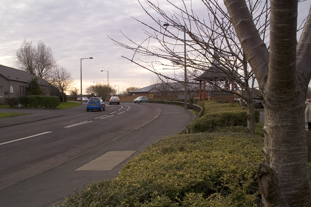 Junction access to shopping park, Blyth