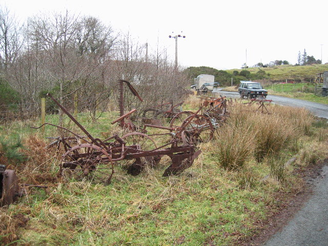 Old Farm Implements