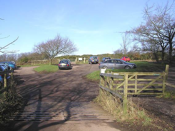 Lydeard Hill car park, Quantock Hills