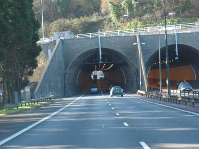 Bryn Glas Tunnels M4 (Eastern Portal)