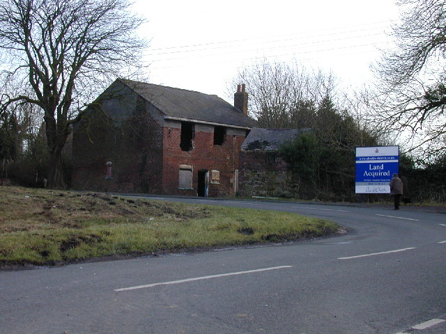 Derelict house at Buckley Mountain