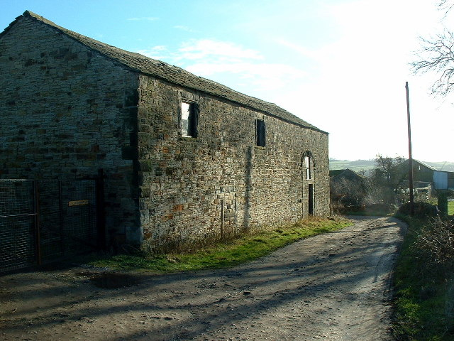 Barn and White Cross Farm