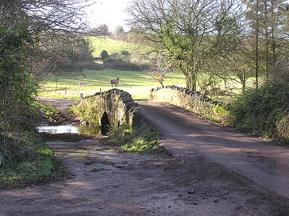 Water Lane bridge over the Doniford Brook