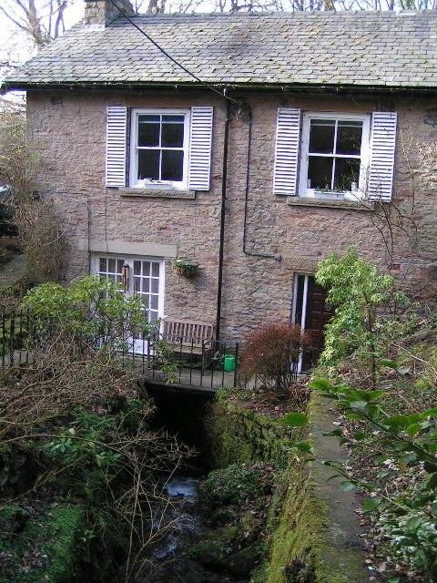 House over the stream, Fernilee