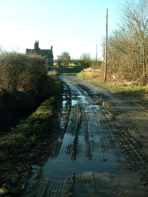 towards White Cross, Emley