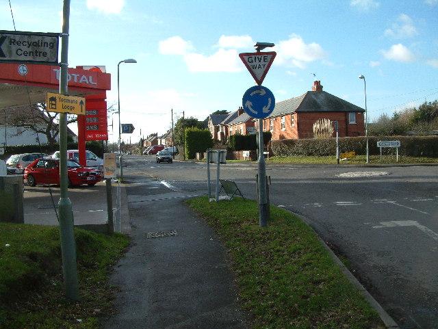 Roundabout, Hordle.