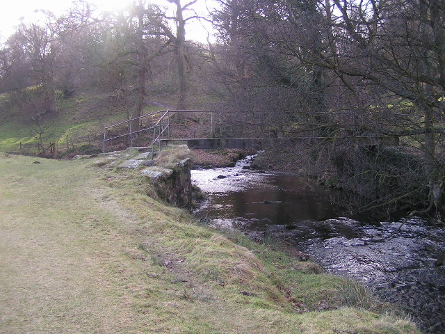 Footbridge over the Goyt