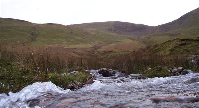 Small tributary from High Moss.