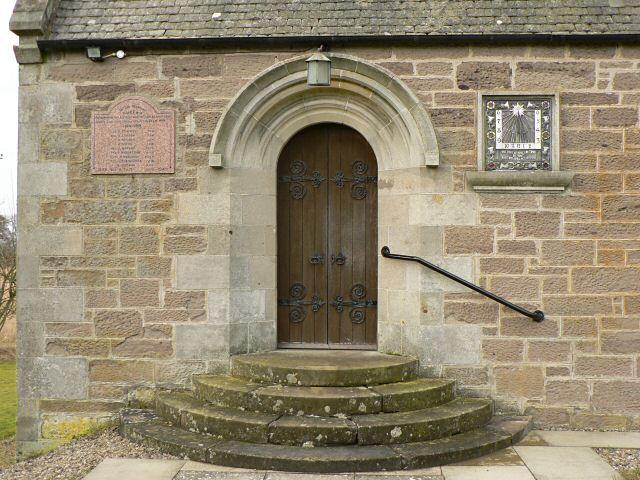 St David's Chapel doorway