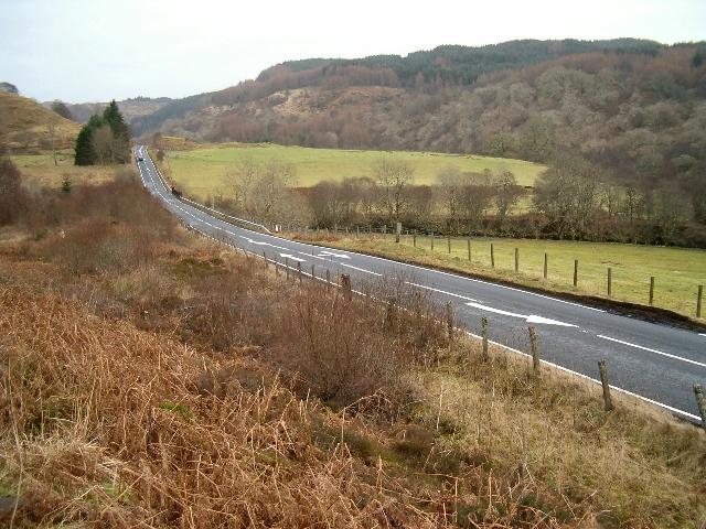A816 near Scammadale