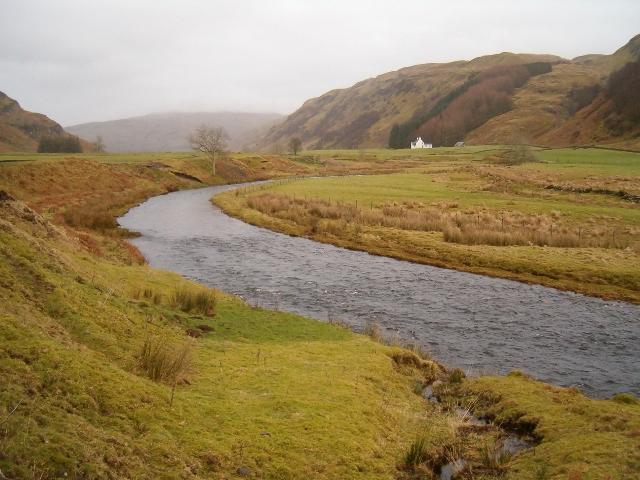 River Euchar in Scammadale