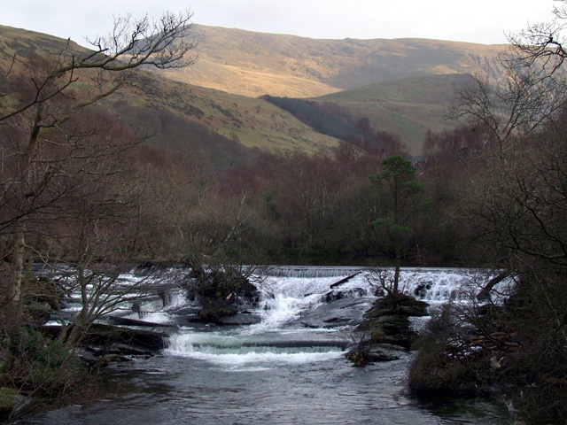Weir at Ogwen Bank
