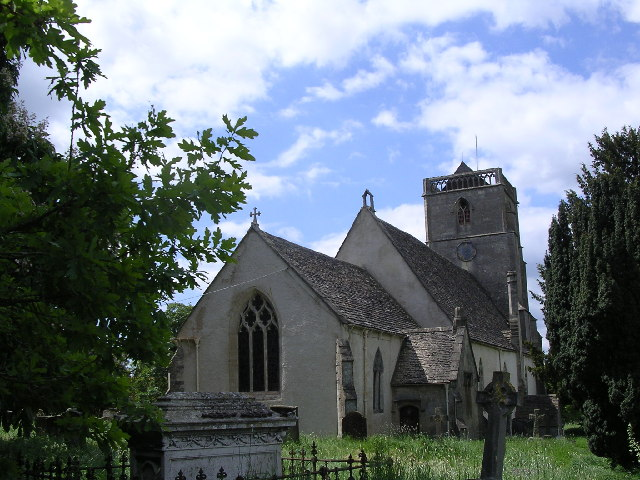 St. Mary's church at Arlingham