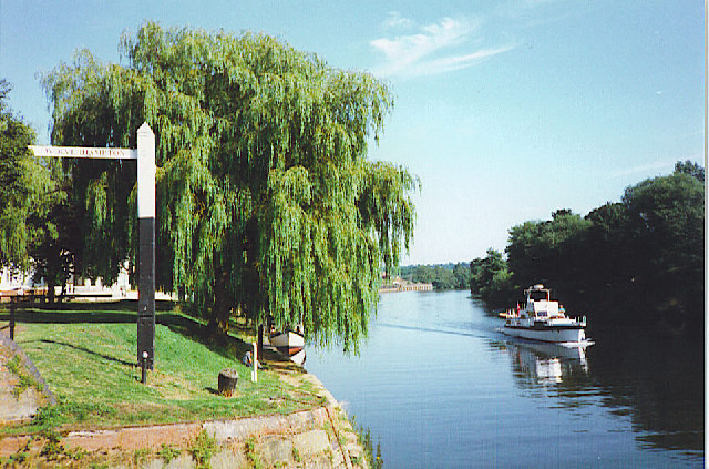 River Severn at Stourport-on-Severn.
