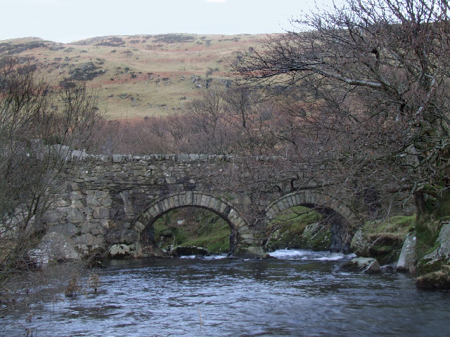 Bridge over Ogwen river