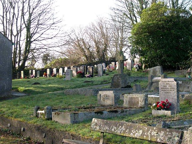 Castle Hill Cemetery, Lostwithiel