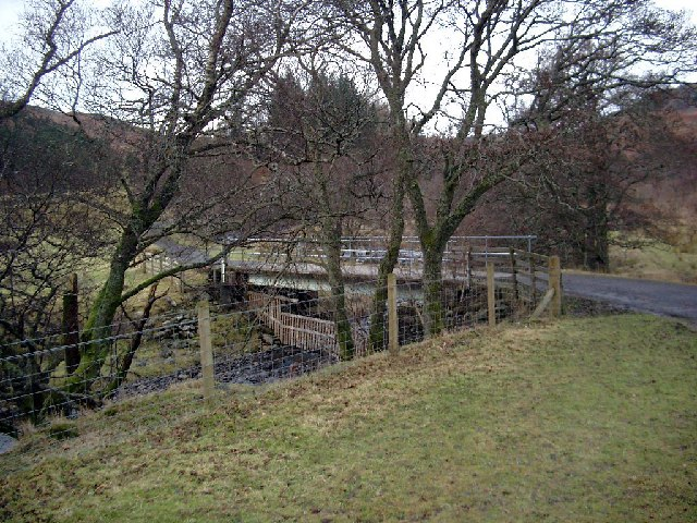 Bridge over the River Lednock