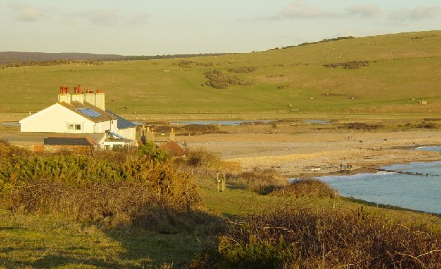 Coastguard Cottages and Cuckmere Haven