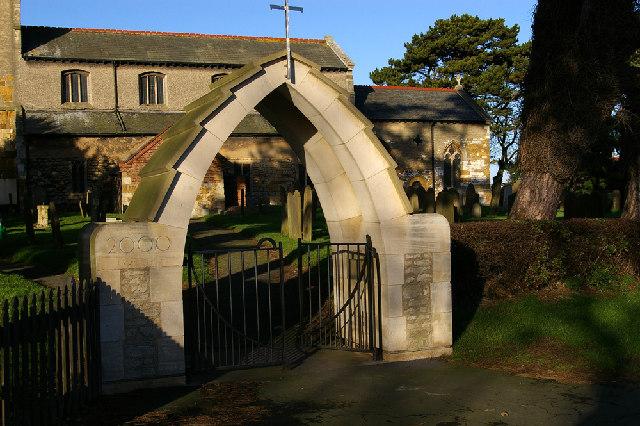 St. Denys - Memorial Gate Entrance