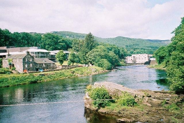 Pitlochry  Festival Theatre & Dam