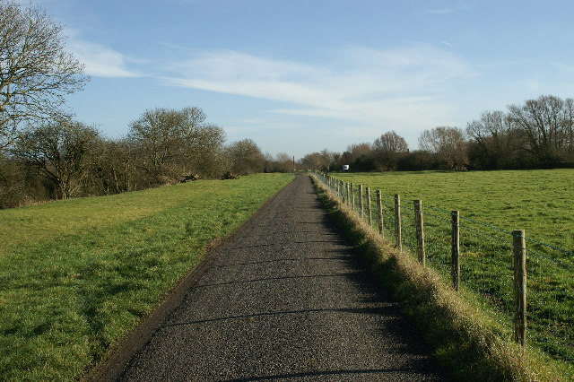 Merry Lane along the River Brue