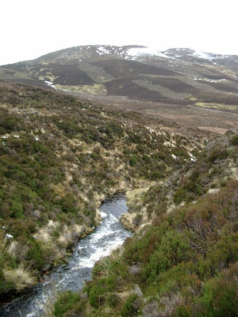 headwaters of the Alltan Driuchd