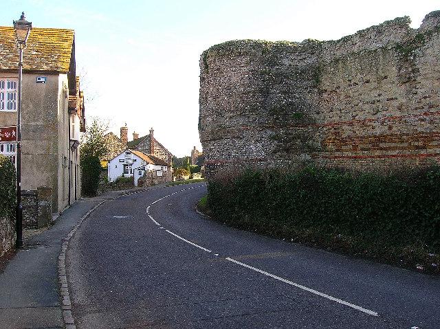 Castle Road, Pevensey