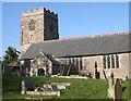 SX1255 : Saint Sampson's Church, Golant by Tony Atkin