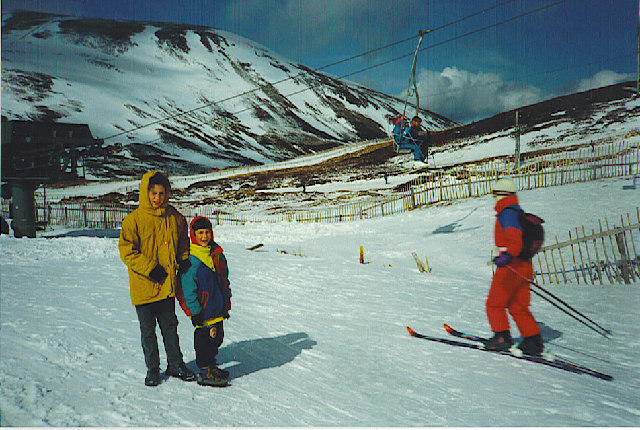 Cairnwell, Skier and Chair Lift
