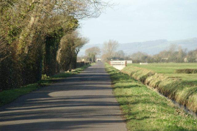 Road on Mark Moor