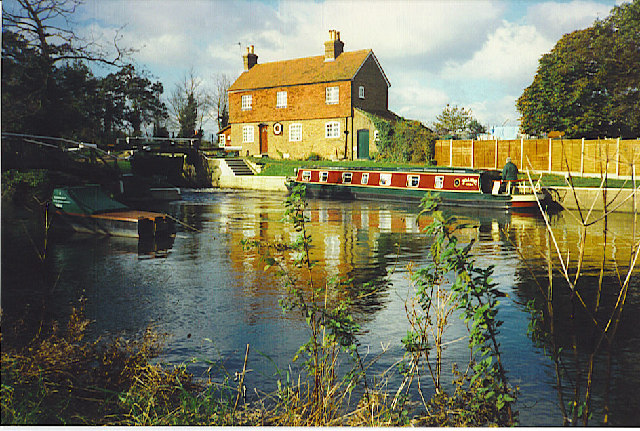 Lock-keeper's House, Stoke Lock.