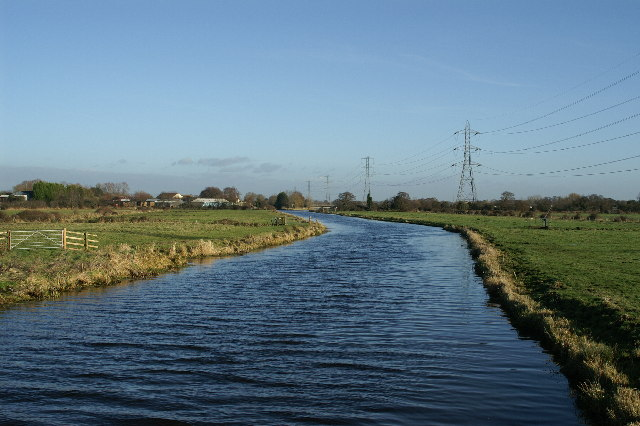 South Drain, section of River Brue