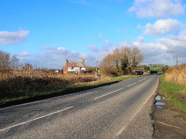 Marshfoot Farm near Wartling
