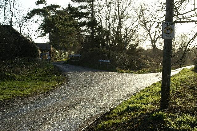 Smallway  Lane, Chilton Polden