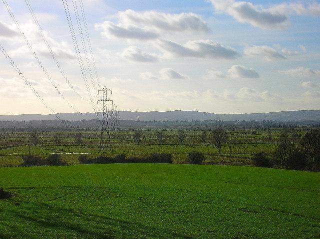 Electricity Pylons, Pevensey Levels
