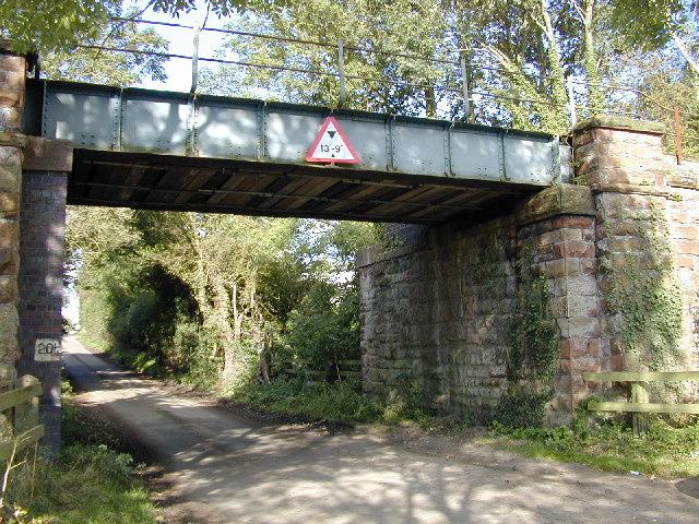 Railway bridge near Long Green