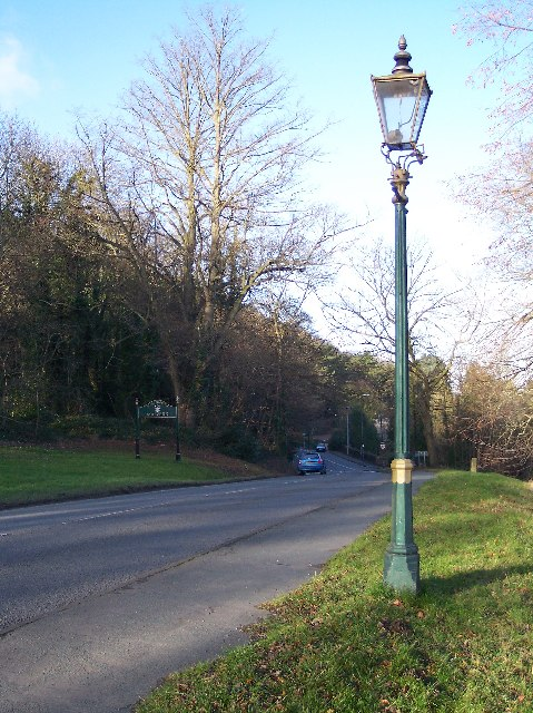 Gas Lamp, Malvern Common