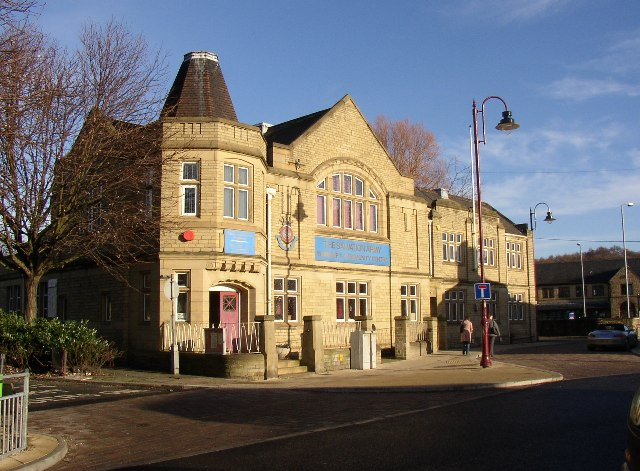 Salvation Army citadel, King Street, Brighouse