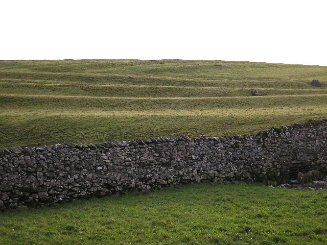 Earthworks near Austwick