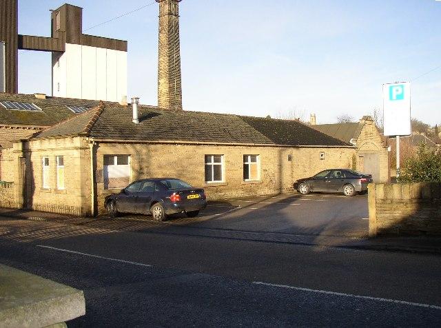 Former Waterworks building, Mill Royd Street, Brighouse
