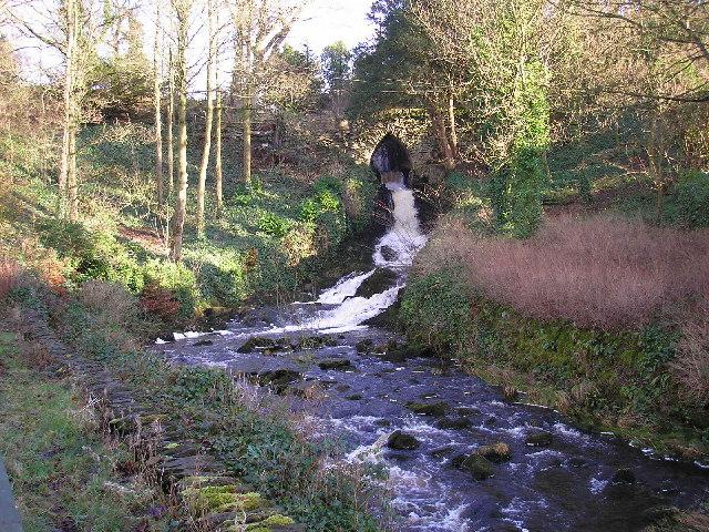 Clapham Beck Waterfall