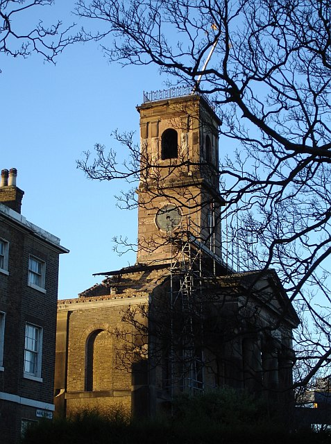 Dockyard Church, Bluetown, Sheerness