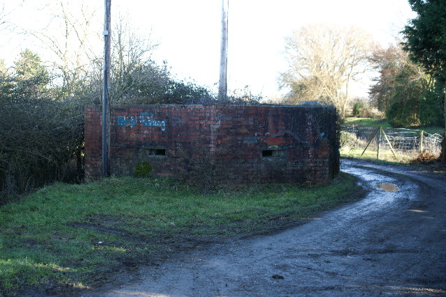 Pill box by the River Brue