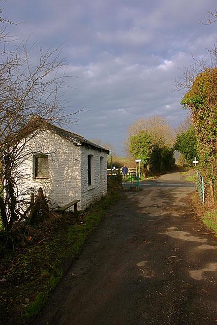 The Peel Line near Glen Vine