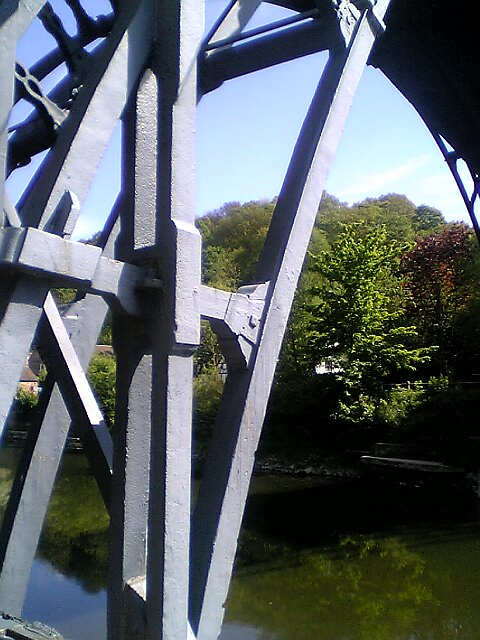 Detail of the Iron Bridge