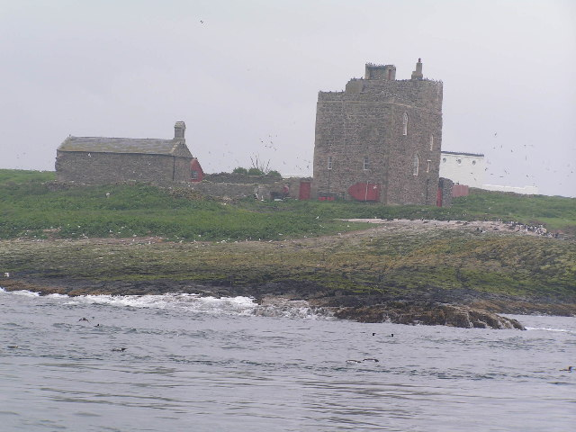 Chapel & Tower on Inner Farne