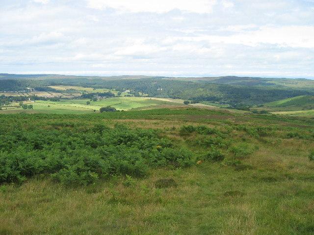 Garleigh Moor looking north