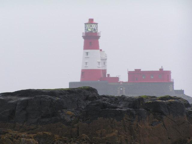 Longstone lighthouse & Clove Car